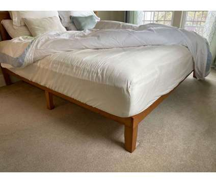 Bed Frame with Headboard + Mattress (King Size) is a Beds for Sale in Portland OR