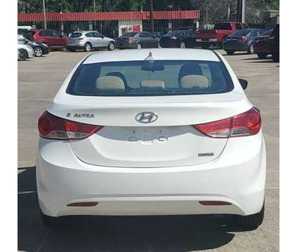 2013 Hyundai Elantra for sale is a White 2013 Hyundai Elantra Car for Sale in Shreveport LA