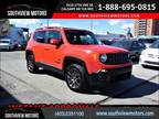 2016 Jeep Renegade 4WD 75TH ANNIV B-CAMERA H-SEATS R-START PANO-ROOF