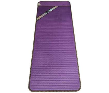 """(NEW) Infrared Amethyst Heating Pad 70″x31"""" Auto Shut Off Purple is a Purple Beddings for Sale in Toronto ON"""