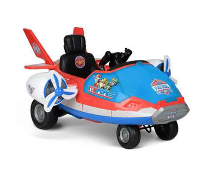 (NEW) Paw Patrol Airplane 6 Volt / BRAND NEW IN BOX NEVER OPENED is a New Blue Toys for Sale in Toronto ON