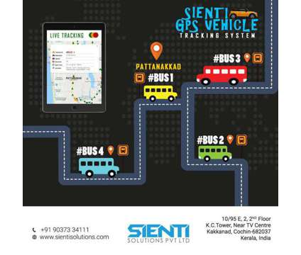 Know safety. Track your vehicle with Sienti GPS Vehicle tracking system is a Other Announcements listing in Ernakulam KL
