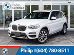 2018 BMW X3 xDrive30i SUV with 19K KMs ONLY