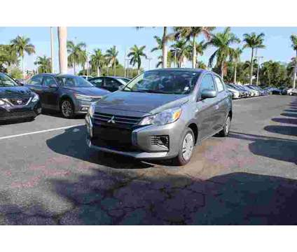 2021 Mitsubishi Mirage ES is a Grey 2021 Mitsubishi Mirage ES Car for Sale in Fort Myers FL