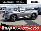 2019 Lexus RX 350 AWD SUV EXECUTIVE PACKAGE 1-OWNER, NO ACCIDENTS