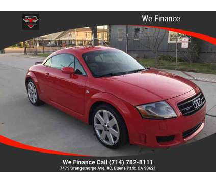 2004 Audi TT for sale is a Red 2004 Audi TT 3.2 quattro Car for Sale in Buena Park CA