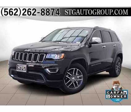 2018 Jeep Grand Cherokee Limited is a Black 2018 Jeep grand cherokee Limited SUV in Bellflower CA