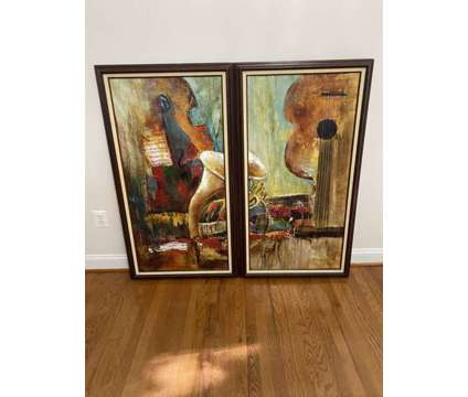 Two Original Paintings is a Other Furnitures for Sale in Rockville MD