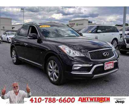 2017 Infiniti QX50 AWD is a Black 2017 Infiniti QX50 Station Wagon in Catonsville MD