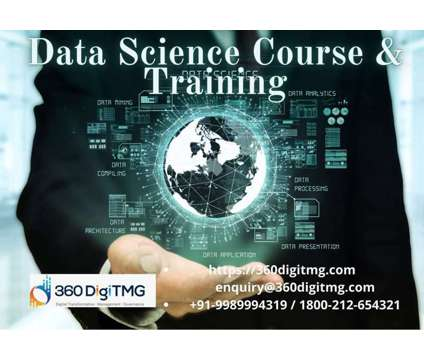 Data Science Course and Training is a Data Science Course and in Computer & Software Job Job at 360digitmg in Coimbatore TN