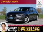2017 Mazda3 Sport Gt Sedan: Low Mileage! BC Vehicle!