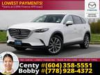 2019 Mazda Cx-9 Gs-L Awd Suv: No Accidents, 1-Owner, Low Kms