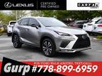 2018 Lexus NX 300 AWD SUV with 16K KMS ONLY, ACCIDENT-FREE