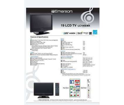 18 in TV with Wall Mount is a Video Cameras for Sale in Denver CO