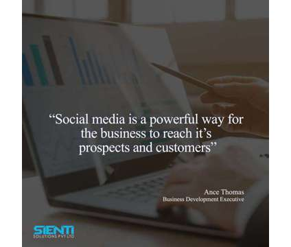 Scope of social media in business is a Other Announcements listing in Ernakulam KL