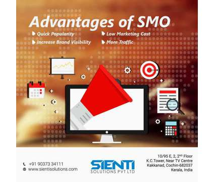 Social Media Optimization (SMO) is a Other Announcements listing in Ernakulam KL