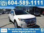 2013 Ford Edge LIMITED, GUARANTEED APPROVALS oac LOW PTS!