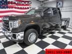 2020 GMC Sierra 3500HD Work Truck 4x4 Diesel Dually Flatbed 1Owner Extras -