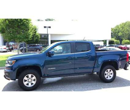 2019 Chevrolet Colorado Work Truck is a Blue 2019 Chevrolet Colorado Work Truck Truck in Newport News VA