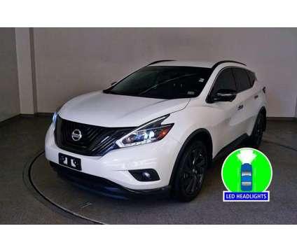 2018 Nissan Murano SL is a White 2018 Nissan Murano SL SUV in Hampton VA