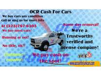 Cash for Junk Cars, Cvash for Cars