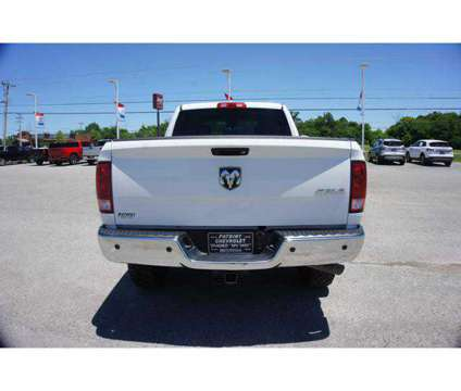 Used 2018 Ram 2500 4x4 Crew Cab 6'4 Box is a White 2018 RAM 2500 Model Tradesman Truck in Hopkinsville KY
