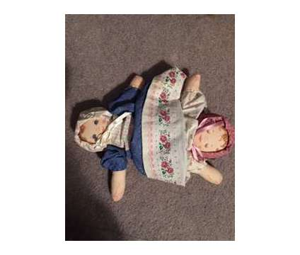 Vintage Topsy Turvy Awake/Asleep Baby Doll is a Collectibles for Sale in Wescosville PA