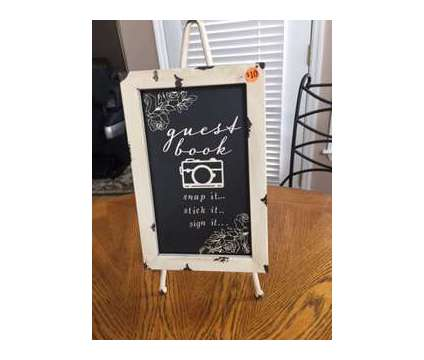 Guest Book Decor on Stand is a New Everything Else for Sale in Wescosville PA
