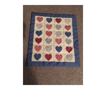 Doll Hearts Quilt is a Blue Dolls & Action Figures for Sale in Wescosville PA