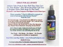 Your Athlete Competition IS Using This- It Works So Good- Dry Fast in 20 Sec