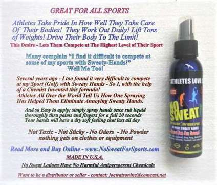 Your Athlete Competition IS Using This- It Works So Good- Dry Fast in 20 Sec is a Skin Cares for Sale in Osprey FL