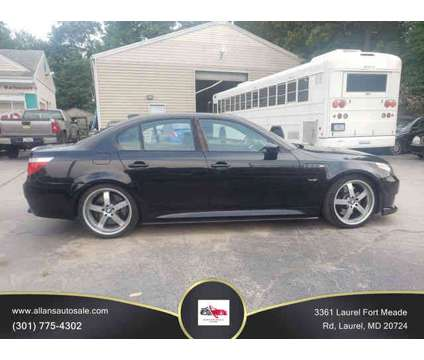 2006 BMW M5 for sale is a Black 2006 BMW M5 Car for Sale in Laurel MD