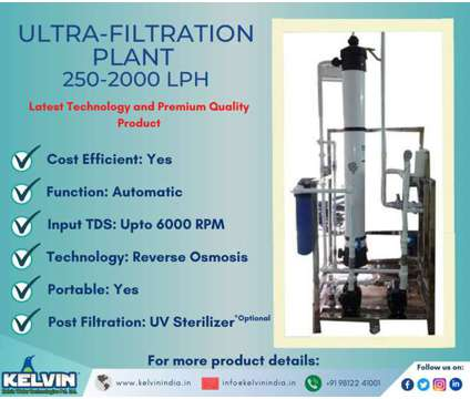 Ultrafiltration(UF) Plant is a Special Offers on Services service in Gurgaon HR