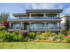 Beautifully landscaped level lot w/Ocean view in Semiahmoo catchment