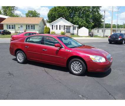 2008 Buick Lucerne (Clean Carfax Report) RED is a Red 2008 Buick Lucerne Sedan in Fort Wayne IN