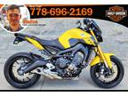 2015 Yamaha Fz-09 with Low Km, Accident-Free, 1-Owner