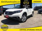 2012 Honda CR-V AWD Touring ( CLEAN CARFAX / CERTIFIED )