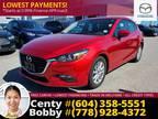 2017 Mazda3 Sport Gs Sedan: 1-Owner, Low Kms! BC Vehicle