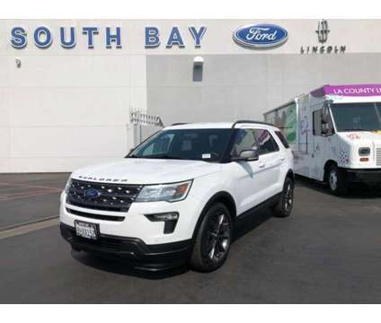 Used 2019 Ford Explorer FWD is a White 2019 Ford Explorer Car for Sale in Hawthorne CA