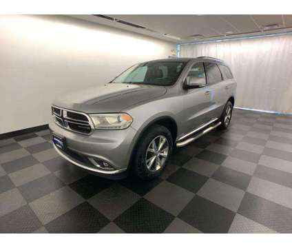 Used 2016 Dodge Durango AWD 4dr is a Silver 2016 Dodge Durango 4dr Car for Sale in Mequon WI