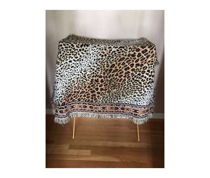 Leopard Print Afghan is a New Everything Else for Sale in Wescosville PA