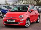 Fiat 500 Fiat 500 1.2 Lounge 3dr Hatchback 2018, 9697 miles