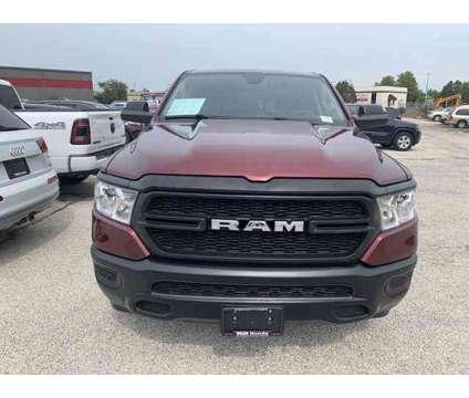 2019 Ram 1500 Tradesman is a Red 2019 RAM 1500 Model Tradesman Car for Sale in Waukesha WI