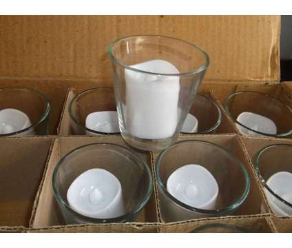 90 Candle Glass Votives is a Home Decors for Sale in Katy TX