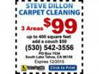 Steve Dillon Carpet Cleaning - Coupons