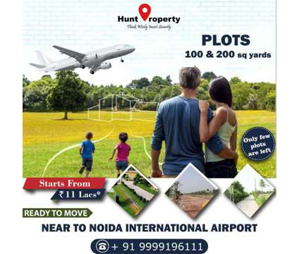 Golden Opportunity to own a Plot near Noida International Airport. Contact Hunt in Delhi DL is a Retail Property for Sale