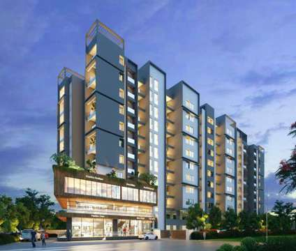 1 BHK flats for sale in Tathawade at iOS in Pune MH is a Other Property