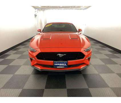 Used 2019 Ford Mustang Fastback is a Red 2019 Ford Mustang Car for Sale in Mequon WI