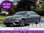 $35,995 2018 Mercedes-Benz E-Class with 49,049 miles!