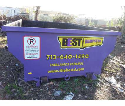 12 cubic yard container is a Other Home Services service in Pasadena TX